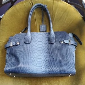 Excellent condition leather Henri Bendel tote